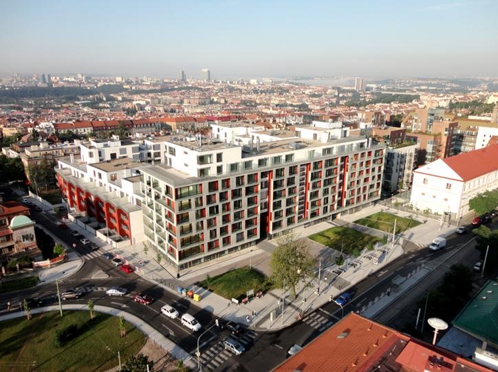 Nové byty v Rezidenci Korunní v Praze 10 - Vinohradech